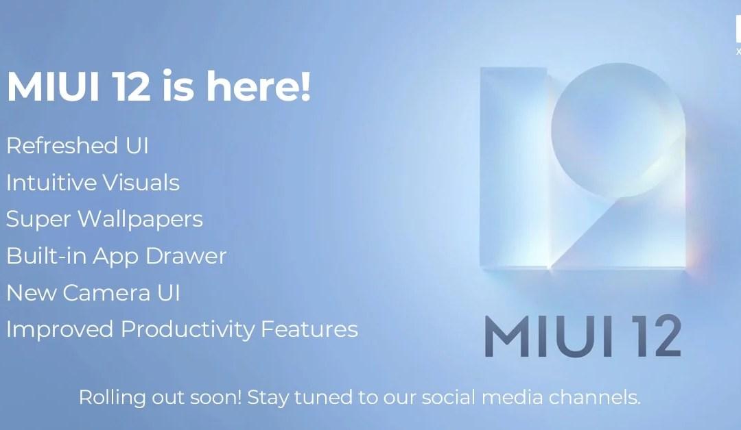List of Mi, Redmi Smartphones getting MIUI 12 rollout