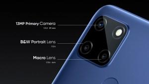 realme c12 camera features