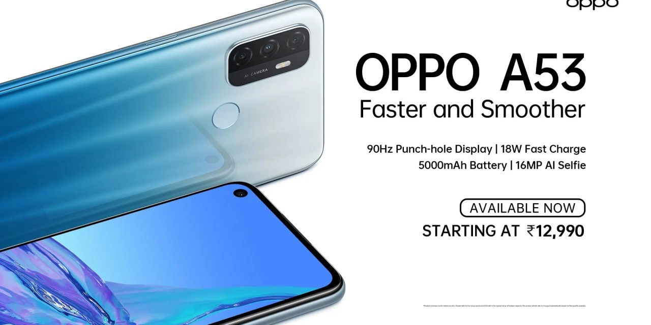 Oppo A53 launched in India – Here its price & specs – Is it Worth Buying?