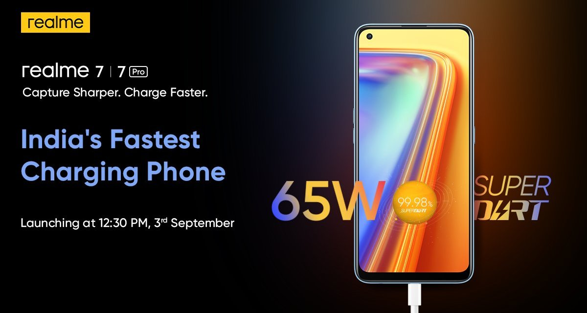 Realme 7 series launching in India on 3rd September & Blind Order details & Known Specs