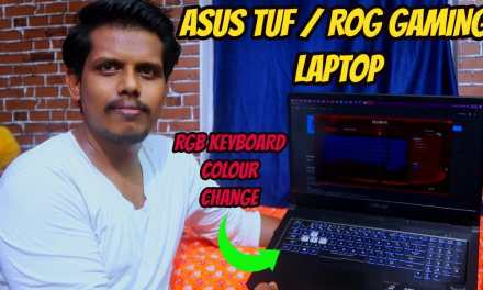 How to Change ASUS TUF & ROG Gaming laptop keyboard colors