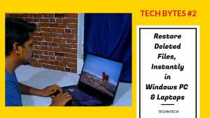 restore deleted files instantly in windows pc & laptops