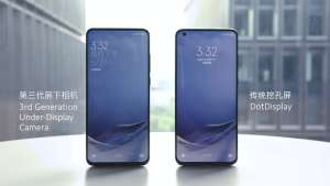 xiaomi 3rd generation under-display camera technology
