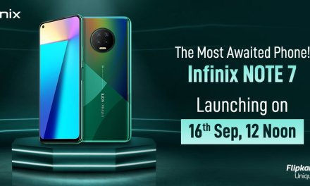 Infinix Note 7 launching in India on September 16