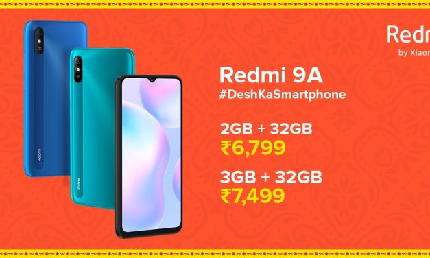 Redmi 9a launched in India – Here its Price & Specs details