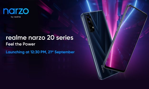 Realme Narzo 20 series launching in India on Sept 21