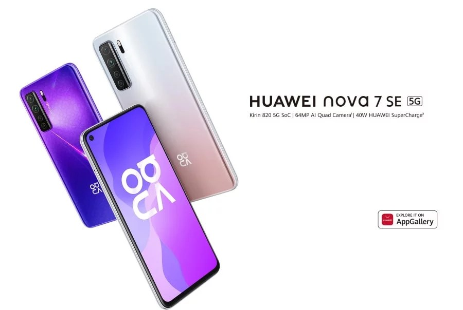 Huawei Nova 7 SE Vitality Edition likely to launch with Dimensity 800U, 40W and attractive price