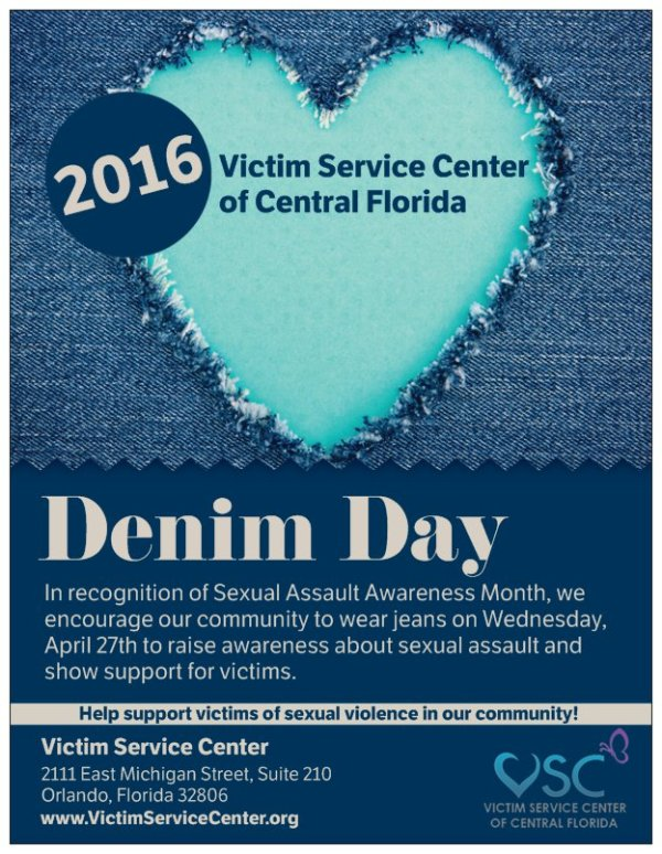 Denim Day 2016