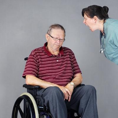 Elder Abused by Nurse