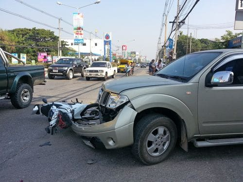 motorcycle crash, injuries