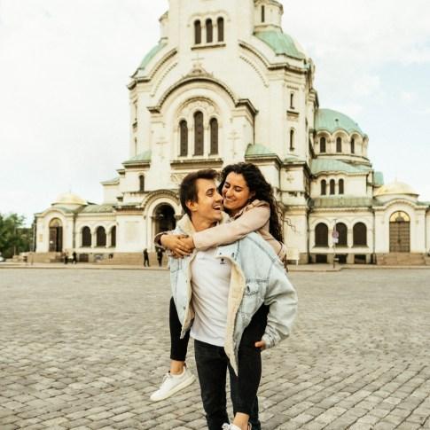 destination wedding in Sofia