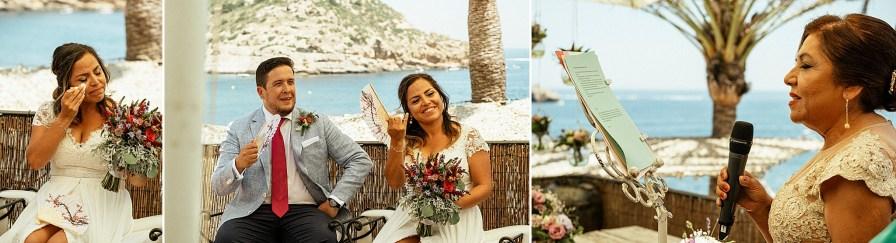 reportaje de boda cala clemence