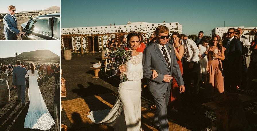 reportaje boda lanzarote