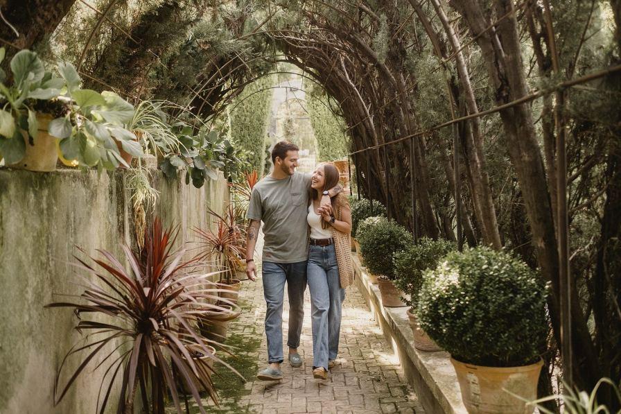 preboda en Jardín de Santos