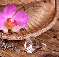 Péndulos y esencias florales