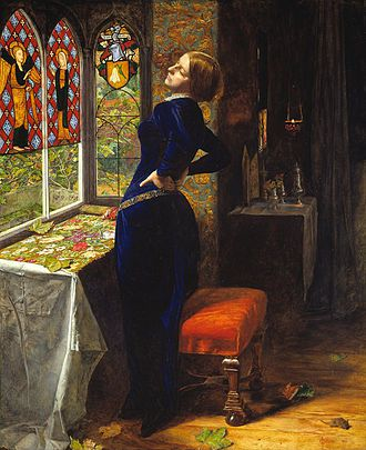 'Mariana' by Sir John Everett Millais (1851)
