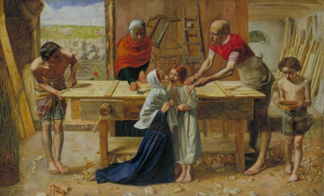 Christ in the House of His Parents by Sir John Everett Millais (1849-50)