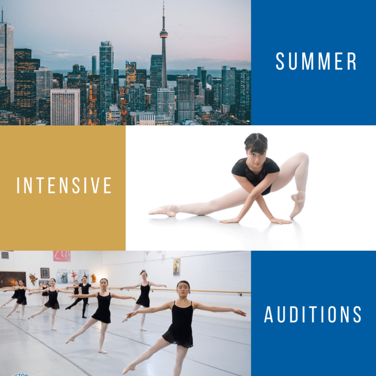 Ballet Summer Intensive Auditions