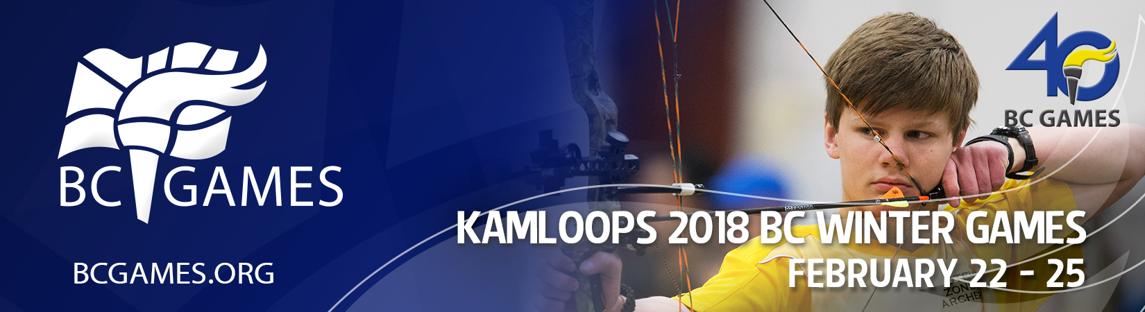 40 BC Games, Kamloops 2018 BC Winter Games: February 22-25, BCGames.org
