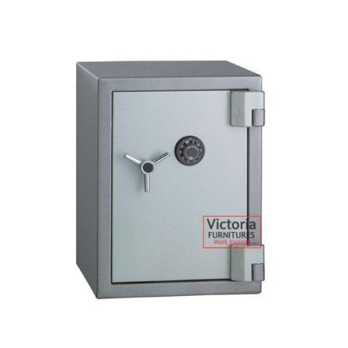 office safe; key and combination