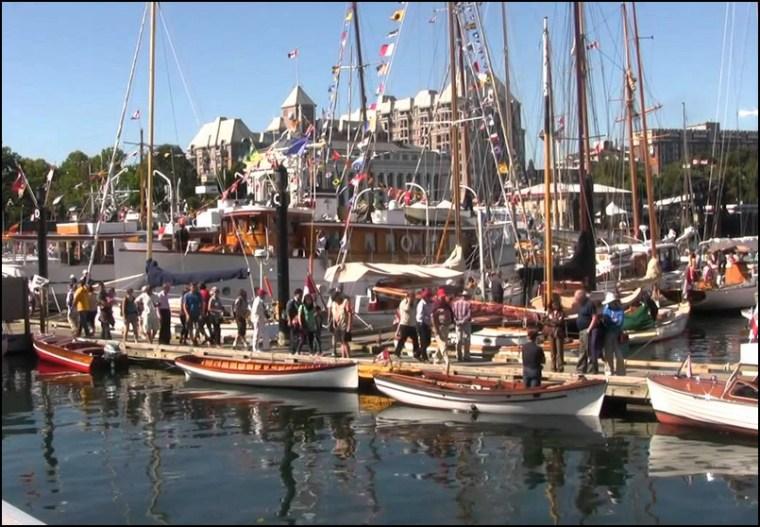 The 38th Annual Victoria Classic Boat Festival