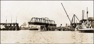 E&N Railway swing bridge