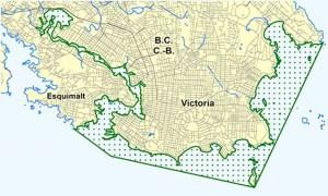 Victoria Migratory Bird Sanctuary map