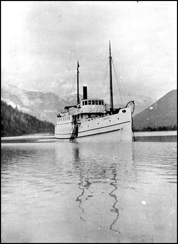 The Dunsmuir yacht Thistle