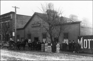 The original Pendray soap works on Humboldt Street