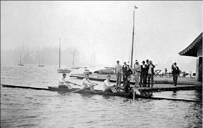 Victoria Inner Harbour, James Bay Athletic Association.