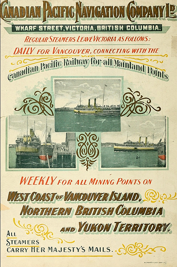 Canadian Pacific Navigation Company Ltd. poster