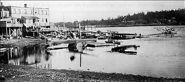 Esquimalt Harbour's Constance Cove seaplane port