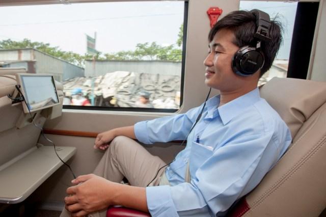 Victoria Mekong Coach - Seating