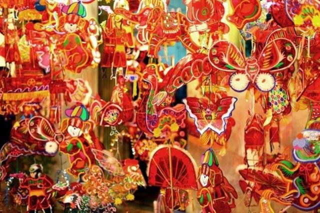 Mid-Autumn Festival Den trung thu