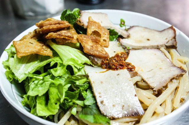 Cao Lau noodles