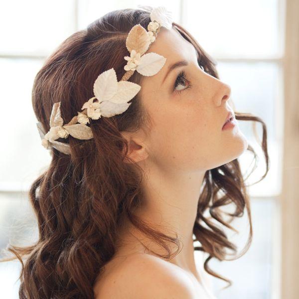 Velvet Blossom Millinery Crown