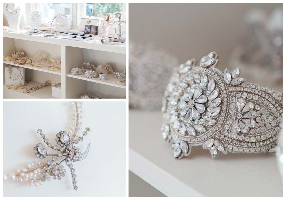 bridal accessories shop Fulham