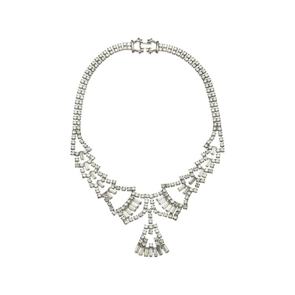 VICTORIA MILLESIME Vintage bridal necklace