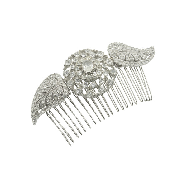 vintage bridal comb no.c16002
