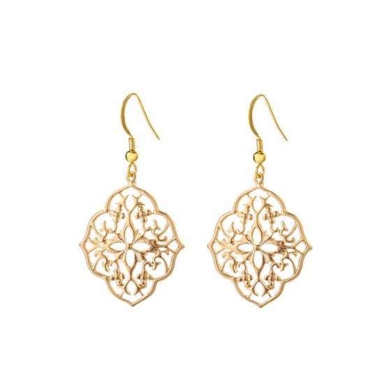VICTORIA MILLESIME GD-E25-Gold-Dust-Filligree-Earrings copy