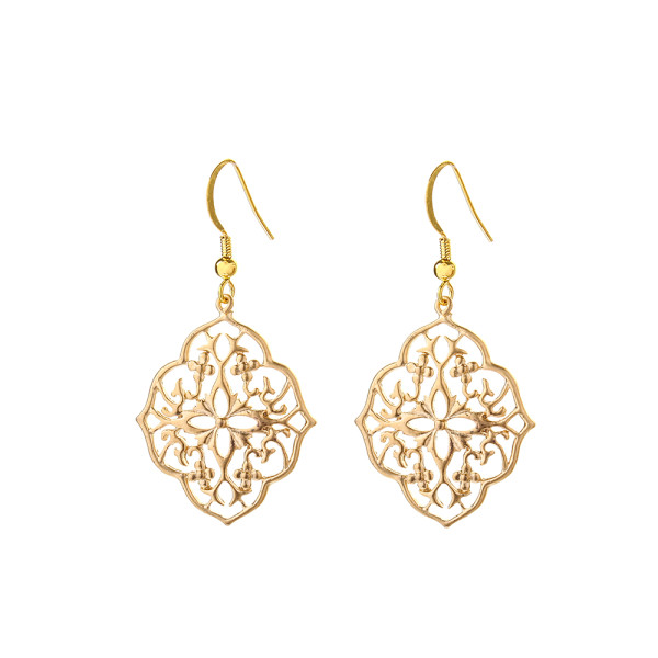 VICTORIA MILLESIME GD-E25-Gold-Dust-Filligree-Earrings copy