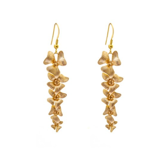 VICTORIA MILLESIME GD-E26-Gold-Dust-Orchid-Earrings copy