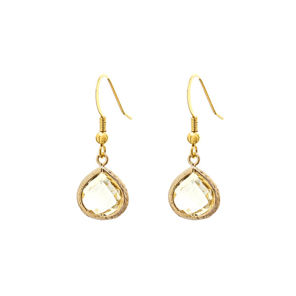 GD-E27-Gold-Dust-Bridesmaid-Earrings-Pale-Gold