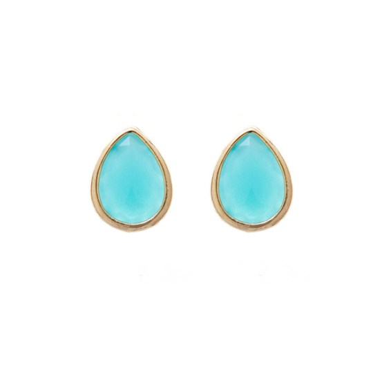 GD-E28-Gold-Dust-Bridesmaid-Earrings2-Turquoise