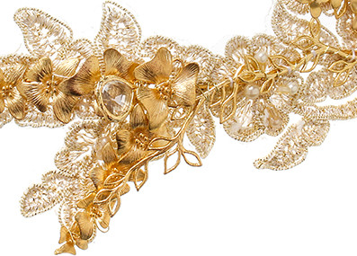 VICTORIA MILLESIME GD-H4-Gold-Orchid-Lace-Headpiece copy
