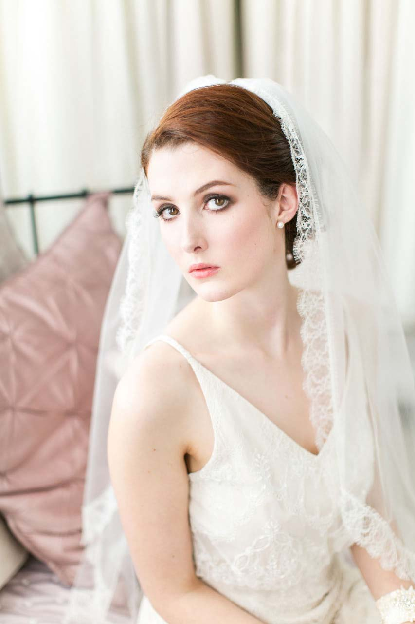 Chantilly Lace Veils
