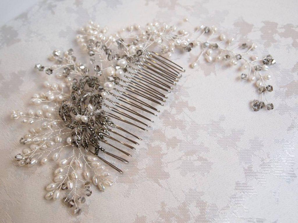 Joanna-bespoke-marcasite-and-pearl-bridal-comb