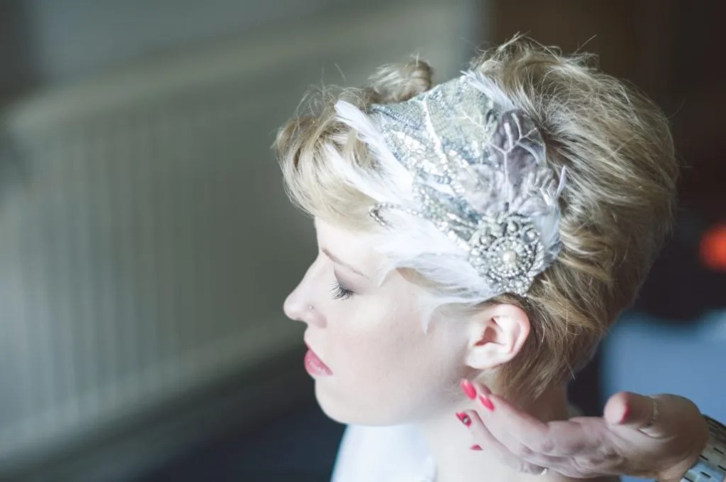 Pixie Bridal Hair Accessories