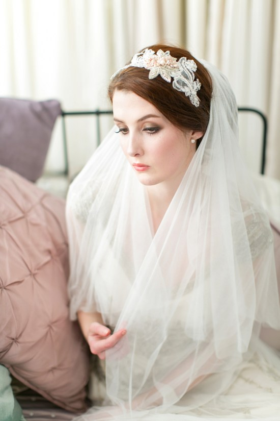 Victoria-Millesime-Blush-Pink-Lace-Bridal-Headpiece-£165-1