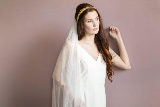 Handmade Gold Bridal Crown